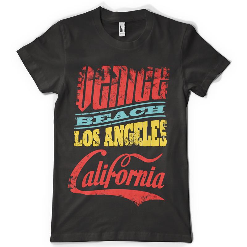 Venice Beach Shirt Design