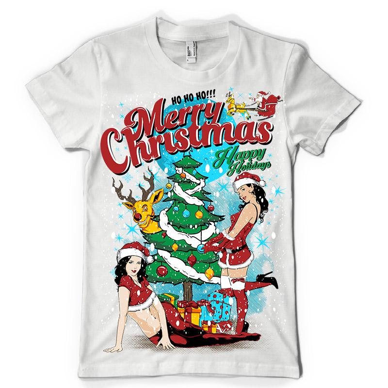 Sexy t-shirt christmas