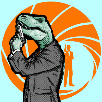 Agent-Rex-T-Rex-T-shirt-clip-art-22853.jpg