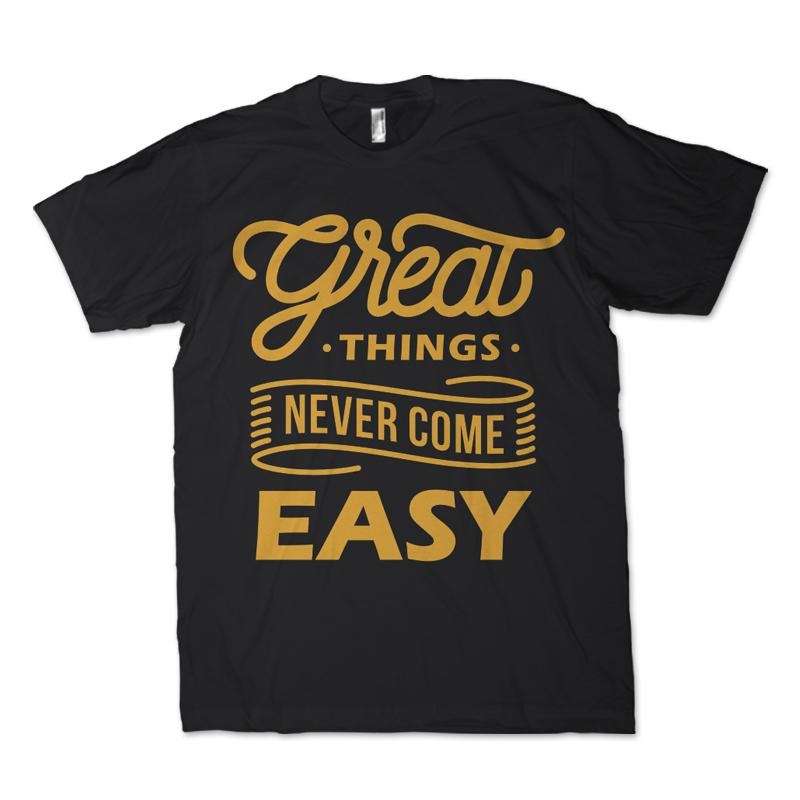 great things lettering custom t shirts 22560jpg