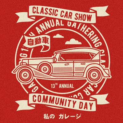 8f907304c Classic Car Show T-shirt design | Tshirt-Factory
