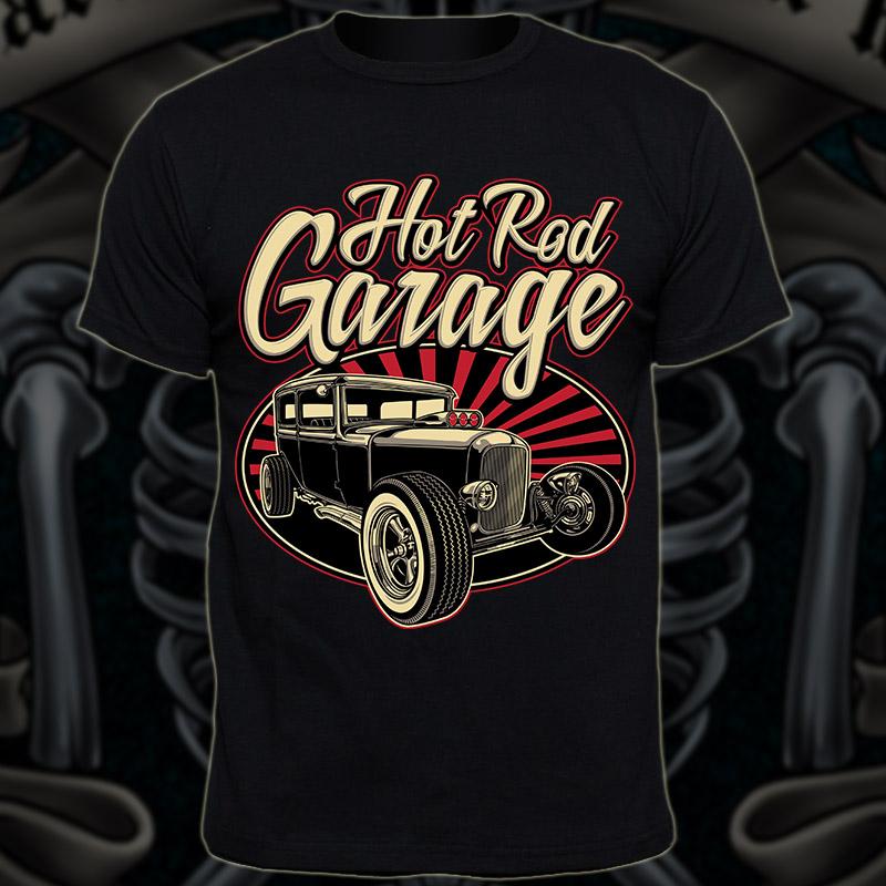 Hot Rod T Shirts >> Hot Rod Garage