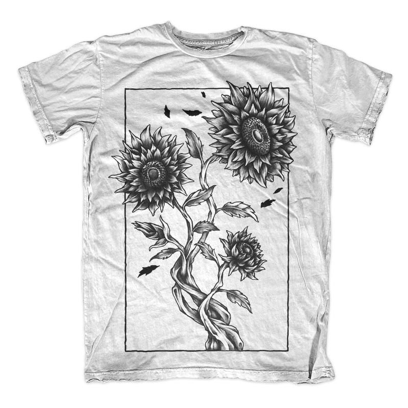 Sunflower Tattoo Design T-shirt clip art | Tshirt-Factory