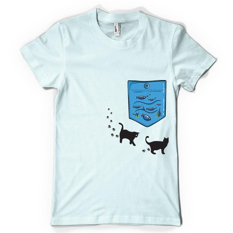 Aquarium Pocket T Shirt Design Tshirt Factory