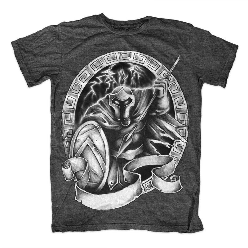 spartan t shirt  Spartan Warrior