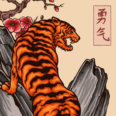 856cdc33 Japanese Tiger Tattoo