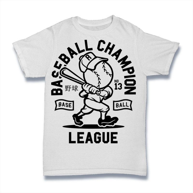 Baseball Champion T-shirt design   Tshirt-Factory