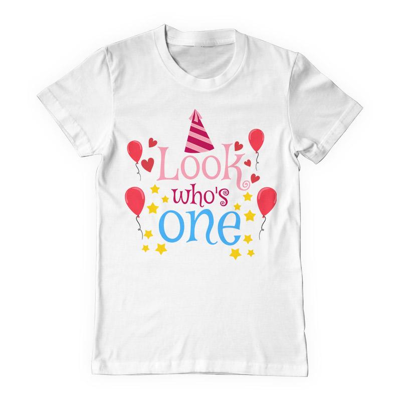 Baby Birthday Shirt Design