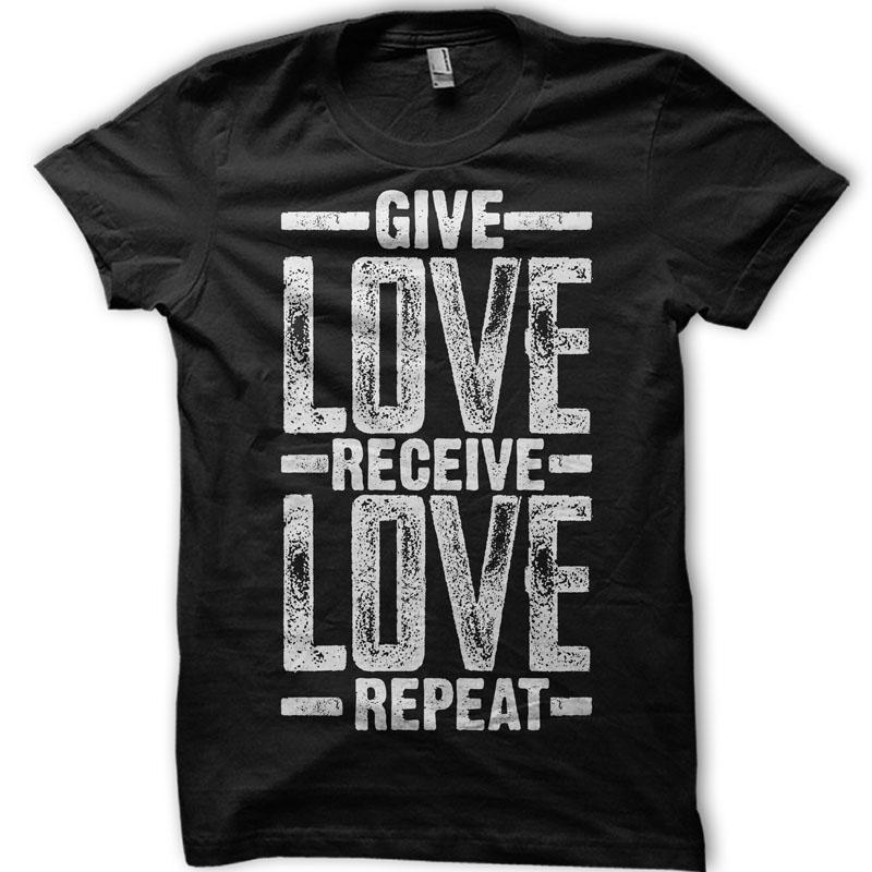 Resultado de imagem para Receive love. Give love. Repeat.