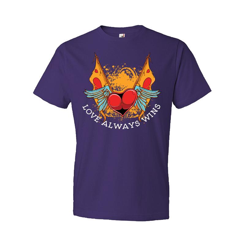 Love Always Wins T Shirt Design Tshirt Factory