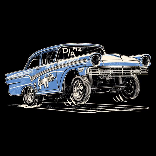 1957 Fairlane Altered Wheelbase Drag Race Car